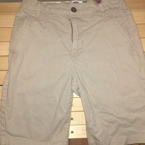 Old Navy boys khaki shorts size 12